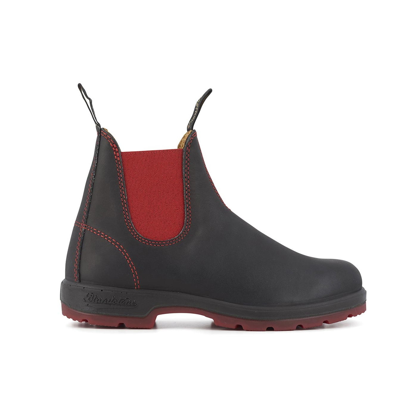 1316 Two-Tone Boots - Black / Red