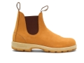 1318 Two-Tone Boots - Wheat Nubuck