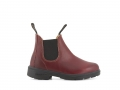 1419 Kids Boots - Burgundy Rub