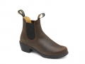 1673 Women's Heel Boots - Antique Brown