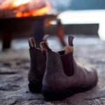 Rchauffez vous auprs du feu avec vos Blundstone blundstone chelseabootshellip